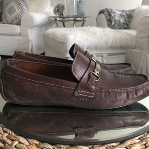 Cole Haan • Somerset Bit Leather Loafers Size 12 M